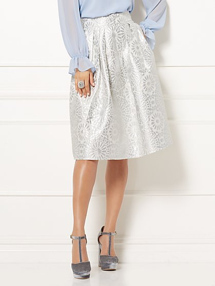 Eva Mendes Collection - Maddie Jacquard Skirt - New York & Company