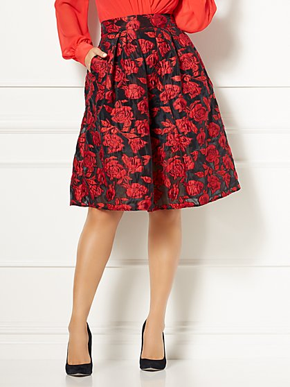 Eva Mendes Collection - Maddie Organza Skirt - New York & Company
