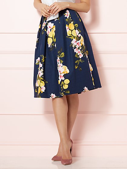 Eva Mendes Collection - Maddie Skirt - Navy - New York & Company