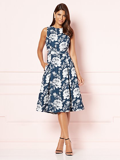 Eva Mendes Collection - Marcella Flare Dress  - New York & Company