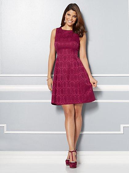 Eva Mendes Collection - Maria Jacquard Dress  - New York & Company