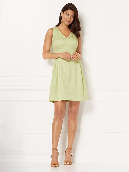 Eva Mendes Collection - Maria V-Neck Dress - New York & Company