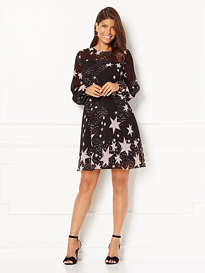Eva Mendes Collection - Maribel Dress - Star Print - New York & Company