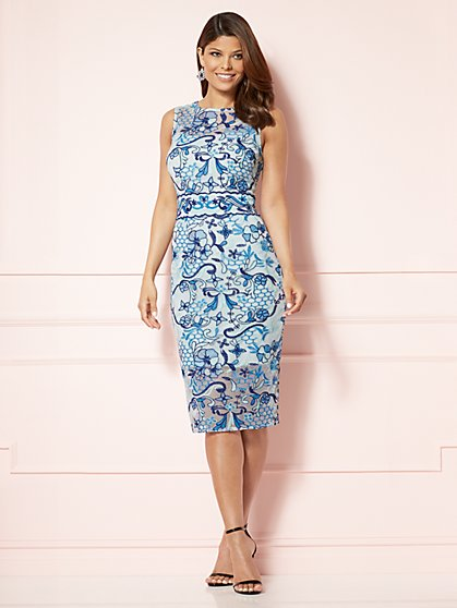 Eva Mendes Collection - Marzia Embroidered Dress - New York & Company