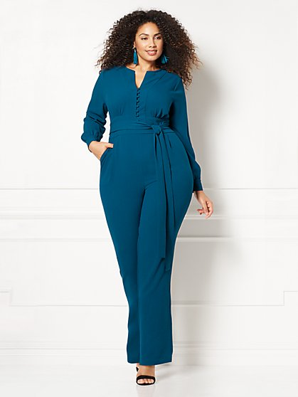 Eva Mendes Collection - Melissa Jumpsuit - Plus - New York & Company