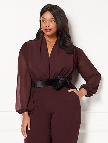 Eva Mendes Collection - Mila Bodysuit - Plus - New York & Company