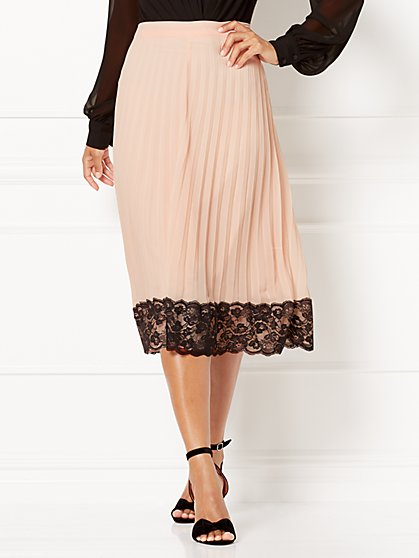 Eva Mendes Collection - Myleene Pleated Skirt - New York & Company