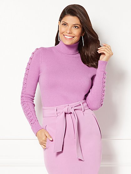 Eva Mendes Collection - Nia Turtleneck Sweater - New York & Company