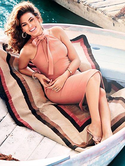 Eva Mendes Collection - Nicole Halter Sheath Dress - Tall - New York & Company