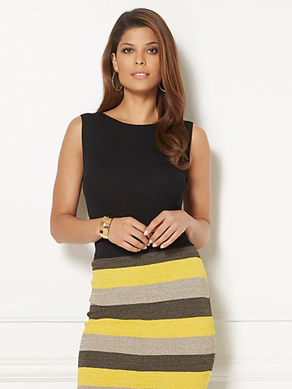 Eva Mendes Collection - Noemi Sweater Shell - New York & Company