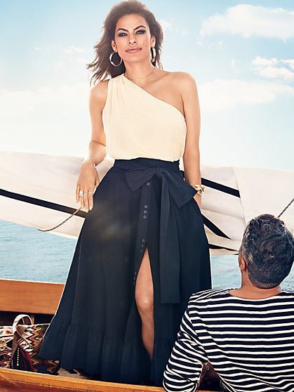 Eva Mendes Collection - One-Shoulder Jina Top - New York & Company