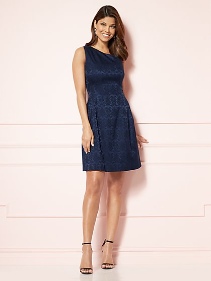 Eva Mendes Collection - One-Shoulder Maria Dress - New York & Company