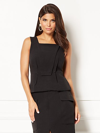 Eva Mendes Collection - Orla Peplum Top  - New York & Company