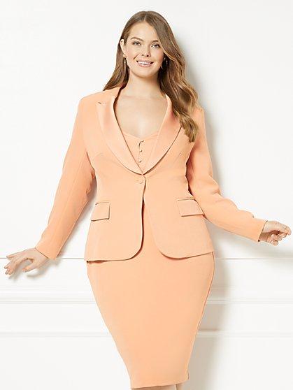 Eva Mendes Collection - Riley Tuxedo Jacket - Plus - New York & Company