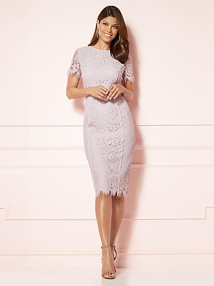 Eva Mendes Collection - Romina Lace Sheath Dress - New York & Company