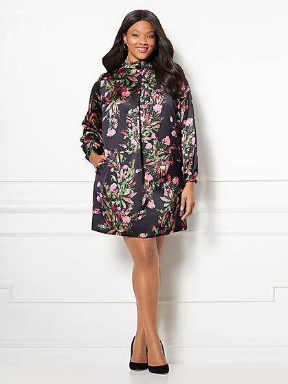 Eva Mendes Collection - Sabrina Dress - Plus - New York & Company