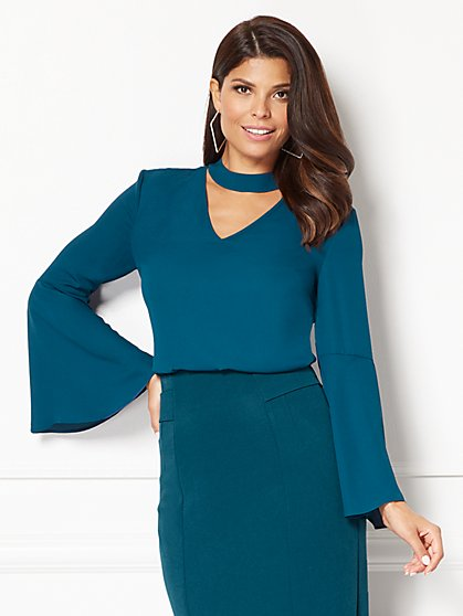 Eva Mendes Collection - Santina Blouse  - New York & Company