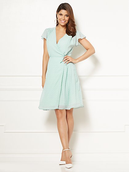 Eva Mendes Collection - Sara Wrap Dress - Tall - New York & Company
