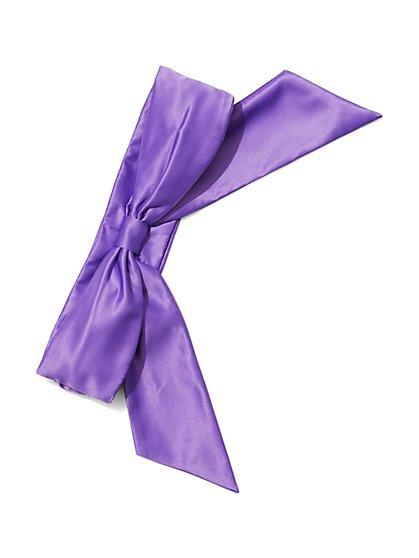 Eva Mendes Collection - Satin Bow Belt  - New York & Company