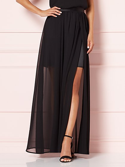 Eva Mendes Collection - Sela Chiffon Maxi Skirt  - New York & Company