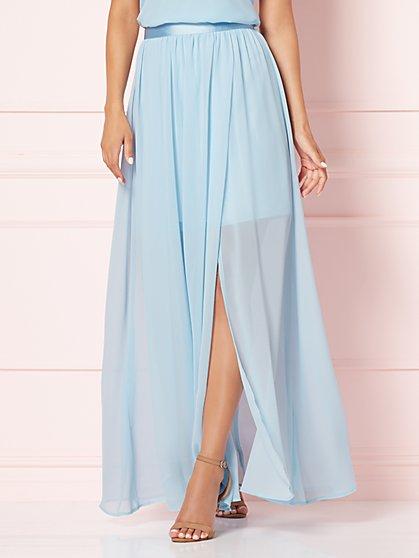 Eva Mendes Collection - Sela Chiffon Maxi Skirt - New York & Company