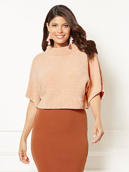Eva Mendes Collection - Sigrid Chenille Sweater - New York & Company