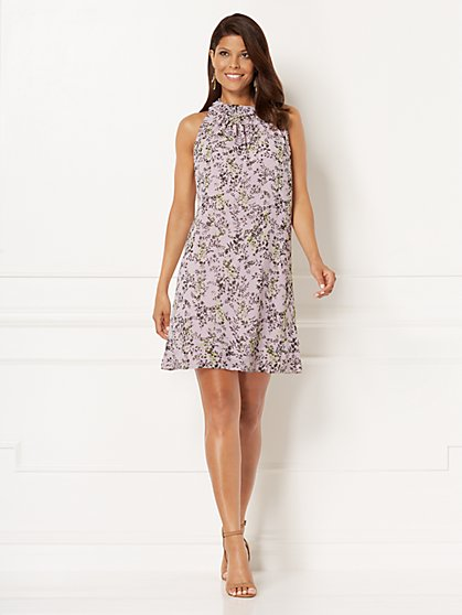 Eva Mendes Collection - Sleeveless Sabrina Dress - New York & Company
