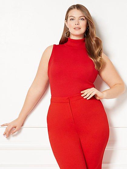 Eva Mendes Collection - Sondra Turtleneck Sweater - Plus - New York & Company