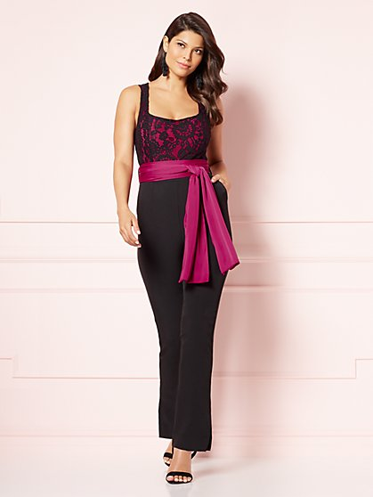Eva Mendes Collection - Sonequa Lace Jumpsuit - New York & Company