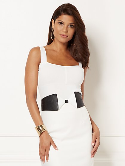 Eva Mendes Collection - Tara Knit Tank Top - New York & Company