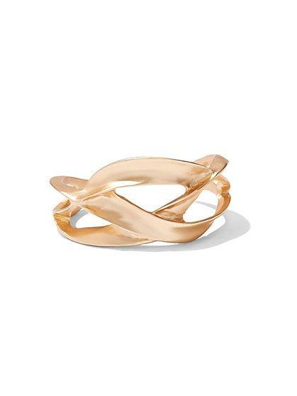 Eva Mendes Collection - Twist Bangle Bracelet - New York & Company
