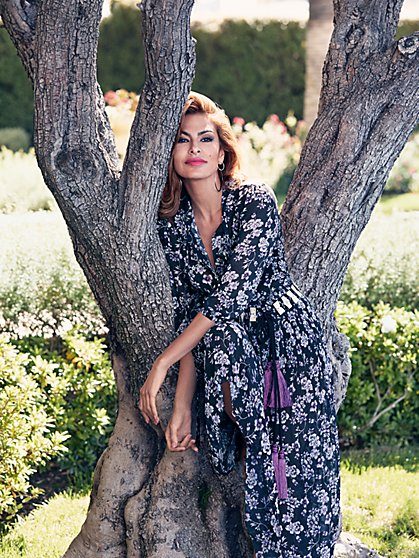 Eva Mendes Collection - Varya Maxi Dress - Petite - New York & Company