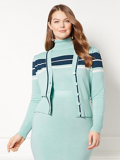 Eva Mendes Collection - Vera Cardigan Sweater - Plus - New York & Company
