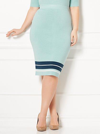 Eva Mendes Collection - Vera Sweater Skirt - Plus - New York & Company