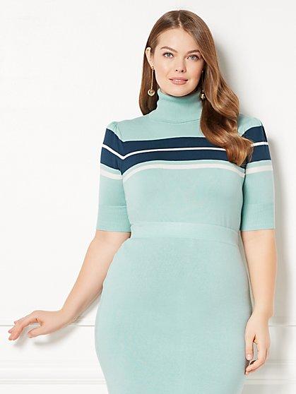 Eva Mendes Collection - Vera Turtleneck Sweater - Plus - New York & Company