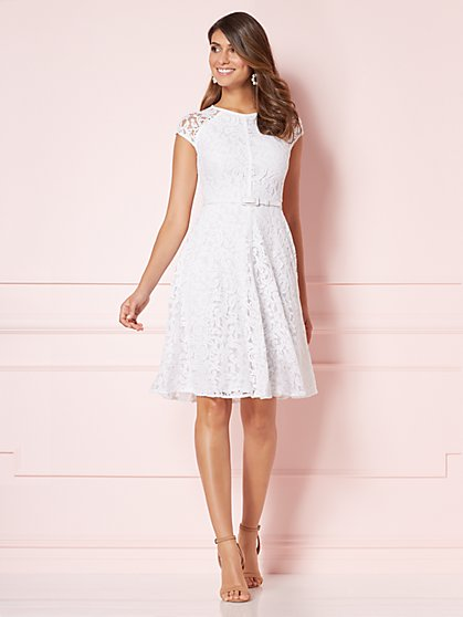 Eva Mendes Collection - Veronica Lace Dress  - New York & Company
