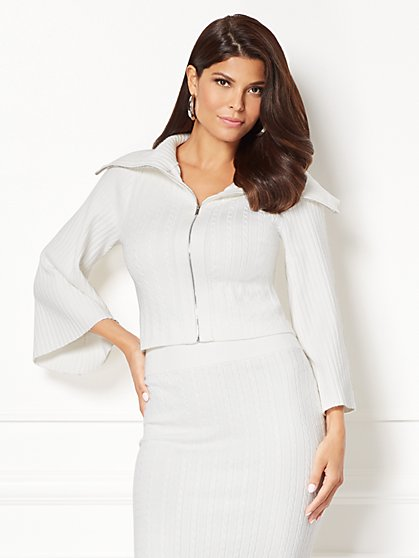 Eva Mendes Collection - Viviana Sweater Jacket  - New York & Company