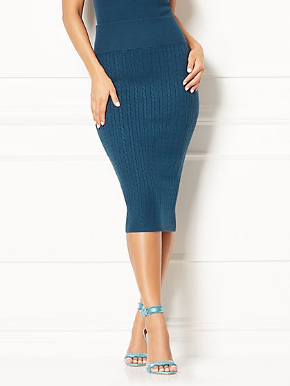 Eva Mendes Collection - Viviana Sweater Skirt - New York & Company