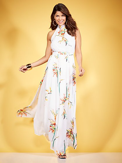 Eva Mendes Collection - Ximena Maxi Dress - New York & Company