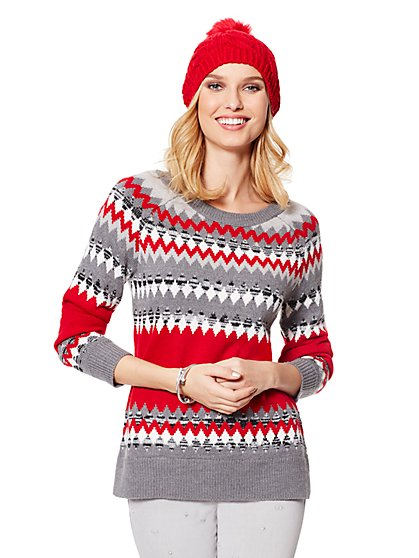 Fair Isle Sweater - New York & Company