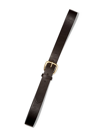 Faux-Leather Belt  - New York & Company