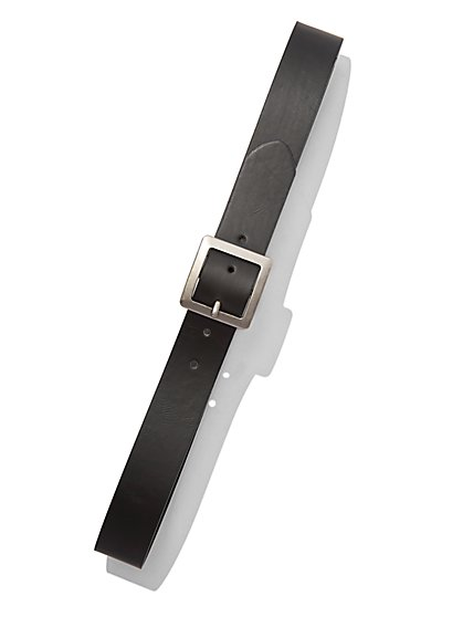 Faux-Leather Buckle Belt  - New York & Company