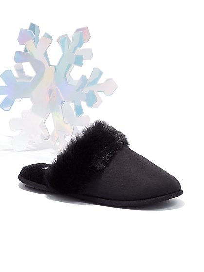 Faux-Suede Slipper - New York & Company