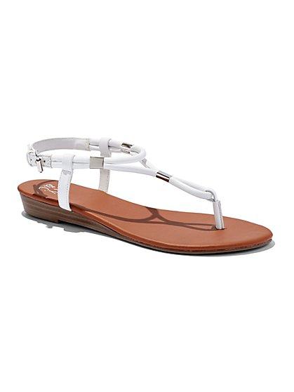 Flat T-Strap Sandal  - New York & Company