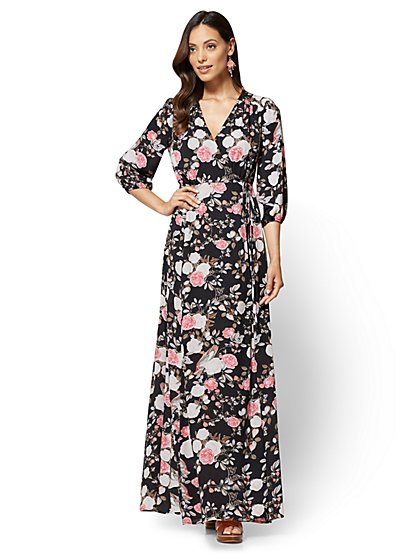 Floral Maxi Dress - New York & Company