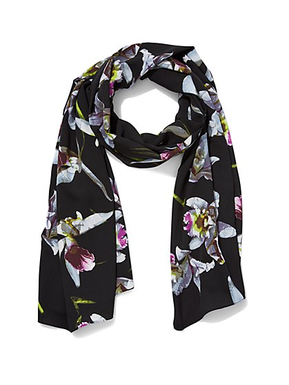 Floral Scarf - New York & Company