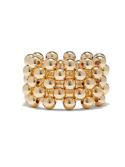 Four-Row Stretch Bracelet  - New York & Company