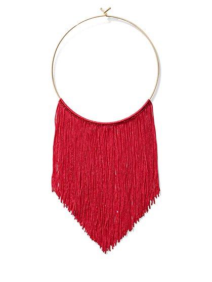 Fringe Collar Necklace - New York & Company