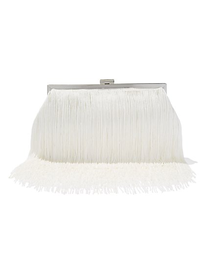 Fringed Clutch  - New York & Company