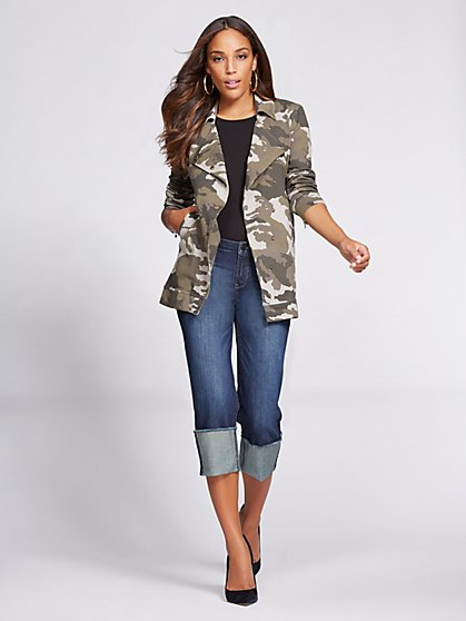 Gabrielle Union Collection - Camo Jacket  - New York & Company
